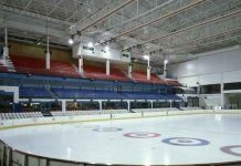 Spain turns ice rink into a morgue